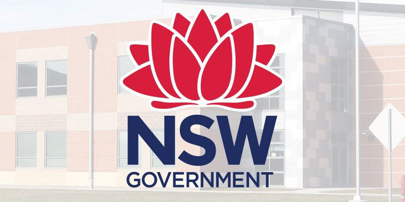 NSW goverment logo high school