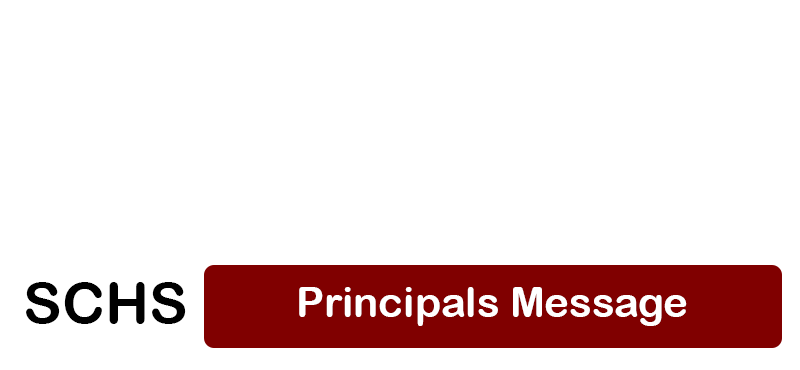 Principals message - April 24